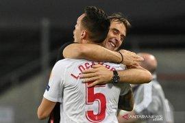 Julen  Lopetegui optimistis Ocampos siap turun di final Liga Europa