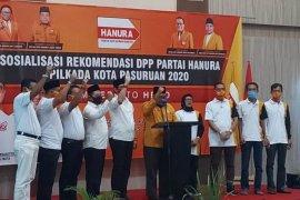 """Hanura instruksikan kader menangkan """"TEGAS"""" di Pilkada Kota Pasuruan"""