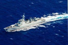 China kirim pasukan lengkap ke LCS, Selat Taiwan