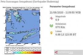 Gempa magnitudo 6,2 terjadi di Laut Banda Maluku Tengah