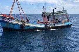 Dua kapal asing penangkap ikan  berbendera Vietnam diamankan di Laut Natuna Utara