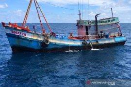 KKP tangkap dua kapal ikan berbendera Vietnam sedang mencuri ikan