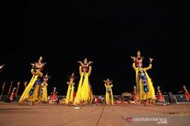 Atraksi seni budaya, tanda dibukanya wisata Boom Marina Banyuwangi