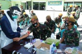 Pupuk Kaltim Fasilitasi Rapid Test Prajurit Den Arhanud Rudal 002 Bontang