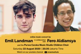 Malam ini ada konser bareng Emil Landman dan Fero Aldiansya
