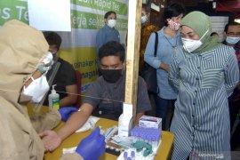 Kemenaker adakan tes cepat COVID-19 untuk pekerja pariwisata Bali (video)