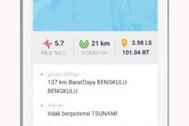 Warga Bengkulu panik rasakan guncangan gempa magnitudo 5,7