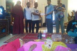 DPD BKPRMI Bangka salurkan bansos untuk korban penjambretan