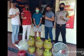 Polsek Belinyu berhasil amankan pelaku pencurian tabung gas