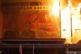 Kebakaran di Gedung Kejaksaan Agung masih tahap pendinginan