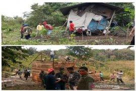 Sempat viral, rumah Sapii Siagian selesai dibangun
