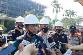 15 orang saksi segera jalani pemeriksaan terkait kebakaran gedung utama Kantor Kejagung