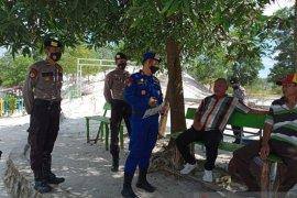 Polres Bangka Tengah gelar patroli di beberapa titik keramaian