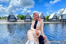 Obyek wisata Danau Laet Sanggau ramai pengunjung saat libur