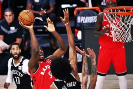 Raptors menghajar Nets 150-122 untuk menyapu putaran pertama  4-0