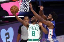 Celtics menyingkirkan Sixers lewat kemenangan sapu bersih