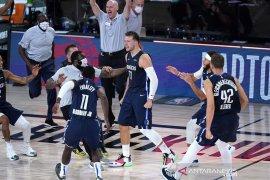 "Mavericks mengimbangi Clippers 2-2, setelah menang lewat ""overtime"""