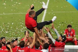 Bayern Muenchen menjuarai Liga Champions berkat gol tunggal Kingsley Coman