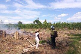 Dua titik api ditemukan  Kecamatan Muara Uya Tabalong