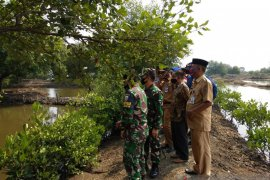 Lanal Banten canangkan Kampung Bahari Nusantara di Pulau Cangkir