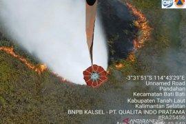 "BPBD kerahkan helikopter ""water bombing"" padamkan karhutla di Kalsel"