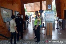 Polisi perketat pengawasan penggunaan masker di objek wisata Sukabumi