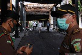 Labfor Mabes Polri sudah tahap kedua olah TKP kebakaran Gedung Kejagung
