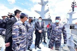 TNI AL luncurkan kapal perang PC 40 M produksi dalam negeri