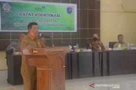 Bupati Kayong harap Rakor kemitraan TNI- KB kesehatan tambah wawasan