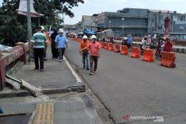 Pemda dan DPRD Kota Bogor bicarakan langkah perbaikan Jembatan MA Salmun