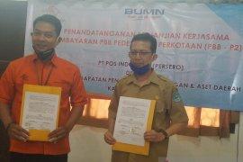 Pemkab Bangka perkuat kerja sama dengan PT. Pos Indonesia