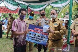 Gubernur Bangka Belitung serahkan bantuan keserasian sosial Kemensos