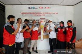 "PT Hakaaston bantu ambulance pada Yayasan Sosial ""Cahaya Foundation"" Bekasi"