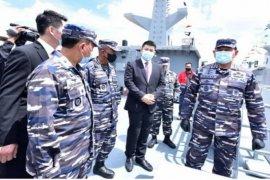 TNI AL luncurkan Kapal PC-40M Karotang dan Matabongsang  produk dalam negeri perkuat pengamanan wilayah NKRI