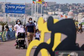 Kasus harian COVID-19 di Prancis catat rekor baru di atas 10 ribu