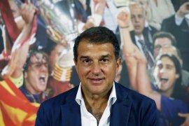 Joan Laporta menuding Barcelona ingin jual Lionel Messi