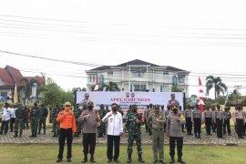TNI - Polri di Kapuas Hulu perketat penegakan disiplin protokol kesehatan