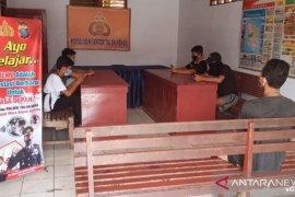 Polsek Talun Kenas sediakan wifi gratis untuk pelajar belajar daring