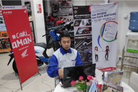 Honda Kalbar adakan Webinar Edukasi Safety Riding Bersama Komunitas Honda