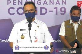 Anies kembali berlakukan PSBB Total di Jakarta