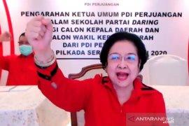 Singgung deklarasi KAMI, Megawati: Banyak yang ingin jadi Presiden