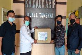 Satgas BUMN Jambi bantu alat kesehatan ke RSUD KH Daud Arief