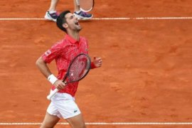 Unggulan teratas Djokovic melaju, Murray tersingkir di Western and Southern Open