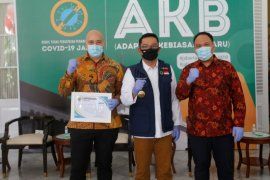 Perusahaan alat rumah tangga Eropa donasikan ventilator untuk Pemprov Jabar