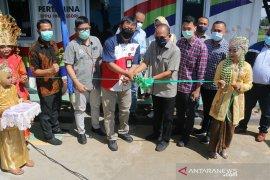Tingkatkan ketahanan supply avtur di Tapteng, Pertamina bersama Elnusa Petrofin resmikan DPPU Pinangsori