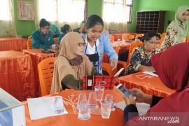 Sosialisasi adaptasi PJJ di Kasikan Kampar, Kukerta UR kenalkan rumah belajar