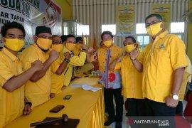Jelang Musda Golkar Tapsel, Rahmat Nasution mendaftar kembali
