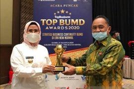 Bupati Serang Raih Penghargaan Top Pembina BUMD Kedua Kali