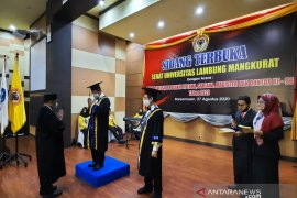 Universitas Lambung Mangkurat Banjarmasin  gelar wisuda virtual