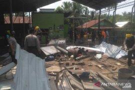 Jibom Gegana olah TKP ledakan di Deli Serdang
